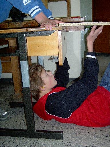 Ein genaues Augenmaß verbunden mit einer Portion Akrobatik erhöht die Erfolgsaussichten.