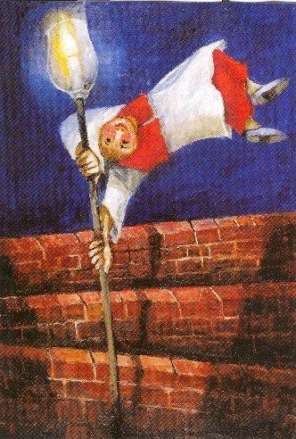 Dieses Bild schmückt sowohl das Programmheft für den Gottesdienst als auch die symbolisch errichtete Mauer in der Kirche.