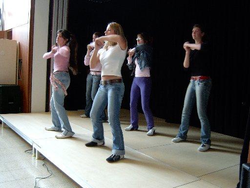 Zu guter Letzt kommt der lang ersehnte Auftritt des Bürener Tanzballetts.