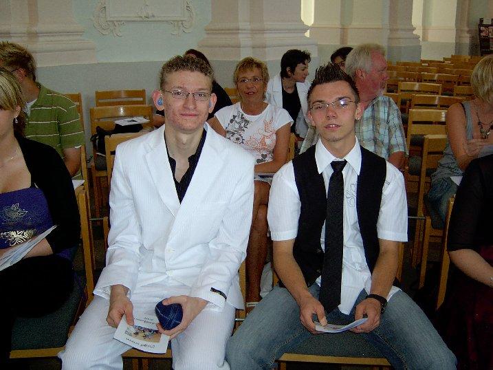 Arthur und Jannik