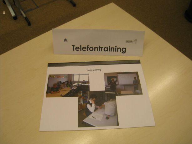 Das Telefontraining