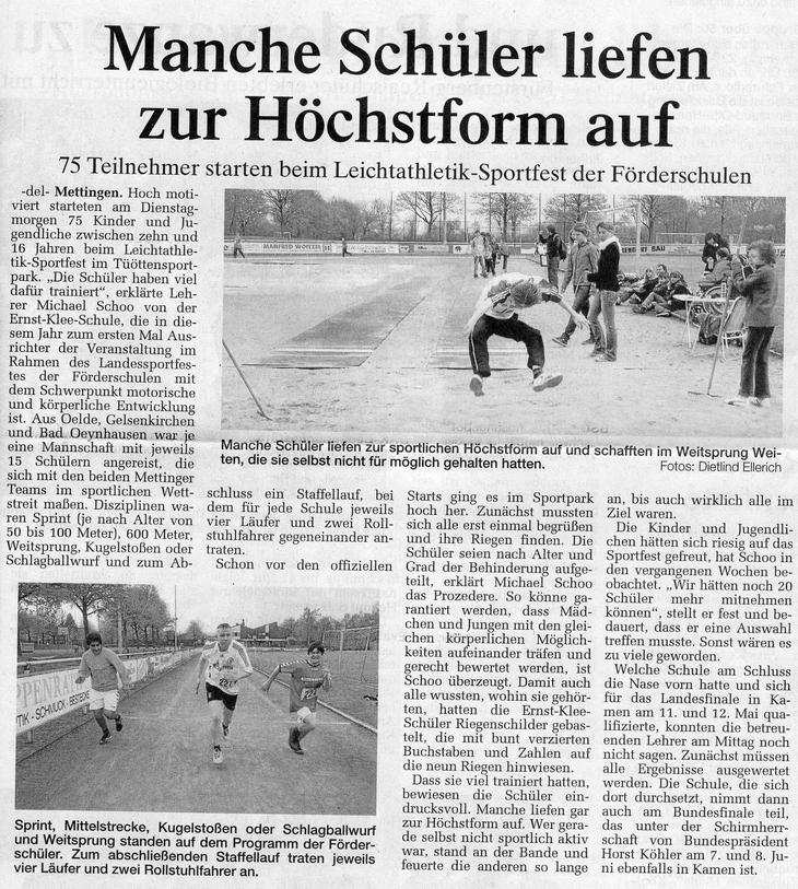 Artikel Sportfest