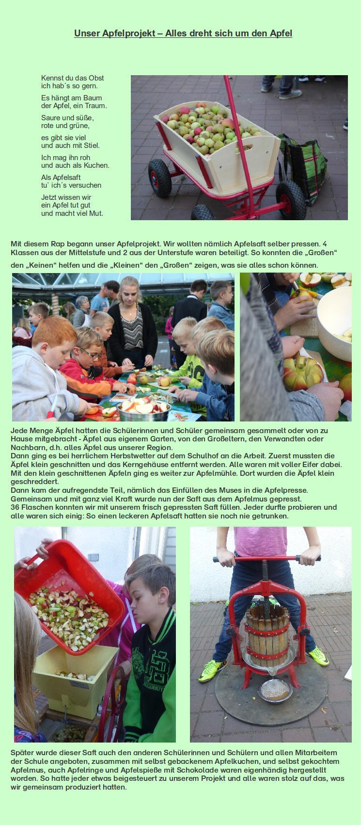 Apfel Projekt