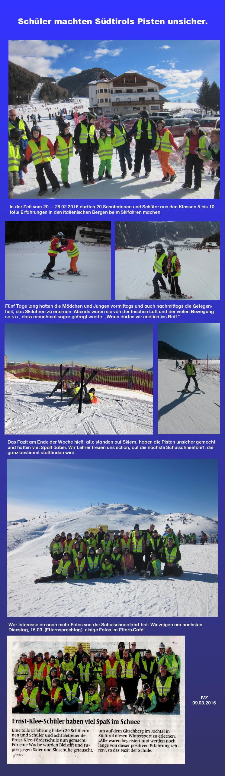 Schneesport 2016