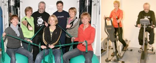 Das Team der Sport- und Bewegungstherapie
