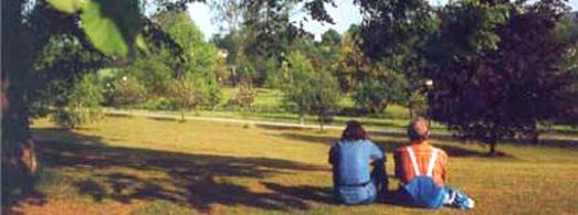 Ansicht des Klinikparks