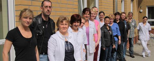 Das Pflegeteam