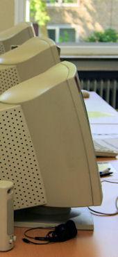 Bildschirmarbeit im Bürotraining