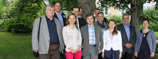 Teilnehmer der Jahrestagung aus vier Ländern
