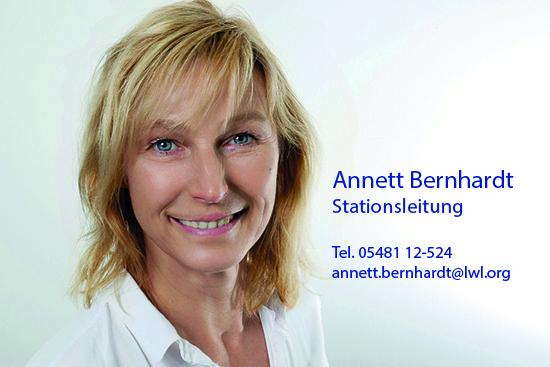 Annett Bernhardt, Stationsleitung