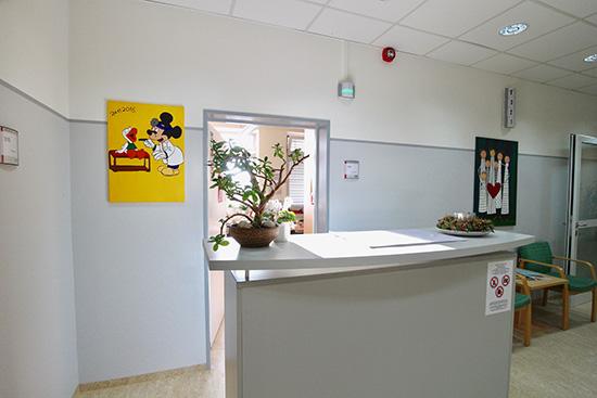 Dienstzimmer. Foto: Dr. Bernward Siegmund