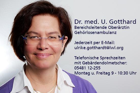 Porträtfoto von Dr. U. Gotthardt
