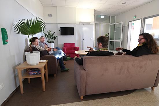 Sitzgruppe. Foto: Dr. Bernward Siegmund