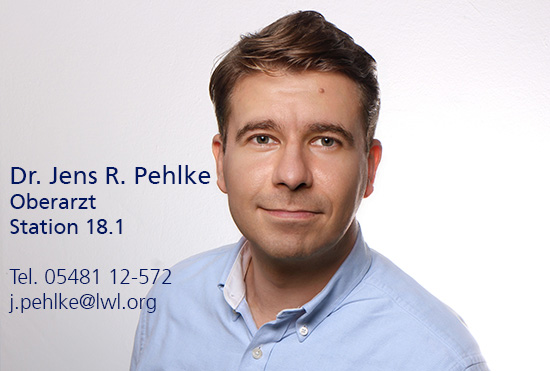 Porträtfoto von Dr. Jens Pehlke