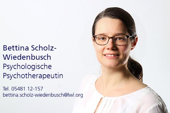 Bettina Scholz-Wiedenbusch. Psychologische Psychotherapeutin