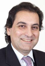Foto zeigt Porträt von Dr. Chrysanthou