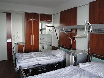Foto zeigt Patientenzimmer