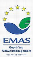 Foto zeigt das EMAS-Logo