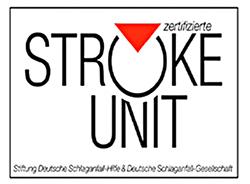Zertifikat Stroke unit (Schlaganfallspezialstation)