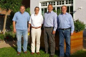 Neuer (alter) Vorstand des Fördervereins der LWL-Klinik Marsberg
