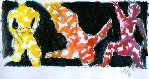 Bild des Esloher Malers Hans Helmuth Engels