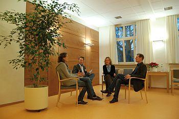 Foto zeigt Team der gerontopsychiatrischen Beratungsstelle