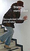 Foto zeigt Frau beim Hinuntergehen einer Treppe