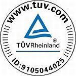 Grafik zeigt Logo des Tüv Rheinland