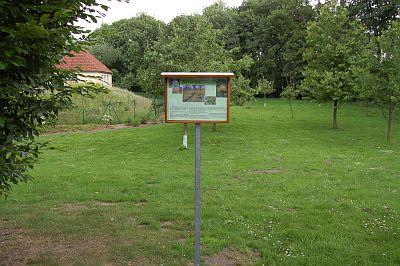 Foto zeigt die Streuobstwiese