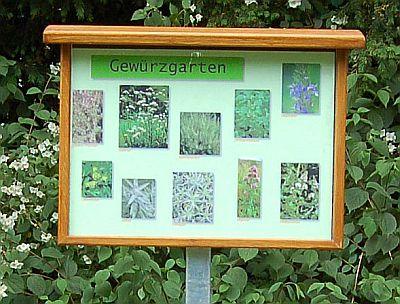 Foto zeigt Gewürzgarten