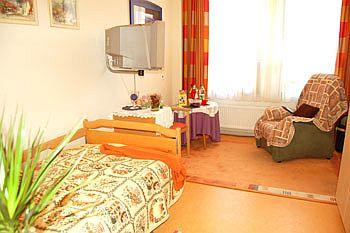 Foto zeigt Bewohnerzimmer