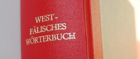 Buchrücken Westfälisches Wörterbuch