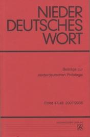 Niederdeutsches Wort