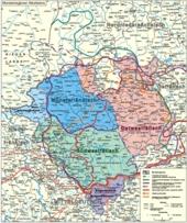 Mundartregionen Westfalens