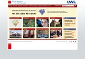Startseite des Internetportals 'Westfalen Regional'