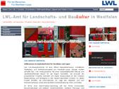 Screenshot des LWL-BauKulturPortals