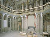 Das Bild zeigt den großen Saal im Münsteraner Erbdrostenhof. Foto: LWL
