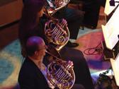 Das Bild zeigt ein Open-Air-Konzert. Copyright: Nordwestdeutsche Philharmonie
