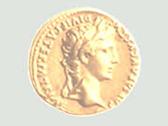 Die Grafik zeigt eine Goldmünze. Foto: Altertumskommission für Westfalen