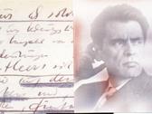 Das Bild zeigt einen Ausschnitt aus einem Manuskript. Foto: Literaturkommission für Westfalen