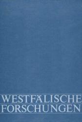 Das Bild zeigt einen Band aus der Reihe Westfälische Forschungen. Foto: LWL