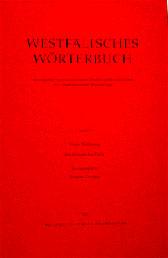 Das Bild zeigt einen Band des Westfälischen Wörterbuchs. Bild: LWL