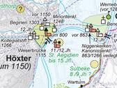 Das Bild zeigt einen Ausschnitt aus dem 2006 erschienenen Westfälischen Städteatlas. Bild: LWL
