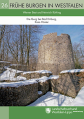 Das Bild zeigt einen Band der Reihe Frühe Burgen in Westfalen. Foto: LWL
