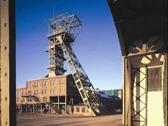 Das Bild zeigt den Förderturm der Zeche Zollern. Foto: LWL-Industriemuseum