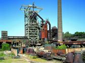 Das Bild zeigt die Henrichshütte Hattingen von außen. Foto: LWL-Industriemuseum