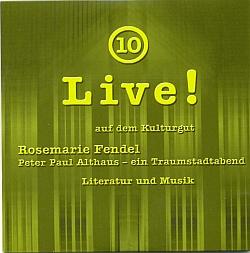 Live! auf dem Kulturgut Nr. 10