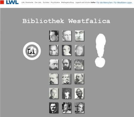 Link zur Bibliothek Westfalica