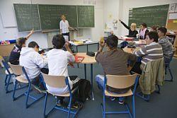 Schüler/innen während einer Unterrichtssituation