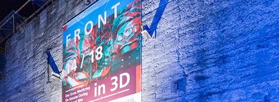 """Das Bild zeigt die Eröffnung der Ausstellung """"Front 14/18"""" im LWL-Industriemuseum Henrichshütte in Hattingen"""